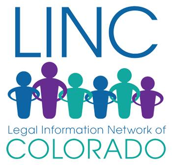 Legal Information Network of Colorado (LINC) logo
